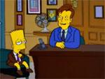 Conan O'Brien reçoit Bart Simpson dans son émission